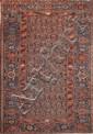 Ancien ZINDJAN (Iran) Milieu XXème 195 x 129 cm
