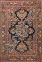 Fin et ancien KACHAN (Iran) 1ère partie du XXème siècle 204 x 137 cm