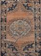 MAHAL (Iran) à large médaillon central Vers 1970 202 x 132 cm
