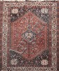 Grand AFCHAR (Iran) à décor géométrique Vers 1960 300 x 200 cm