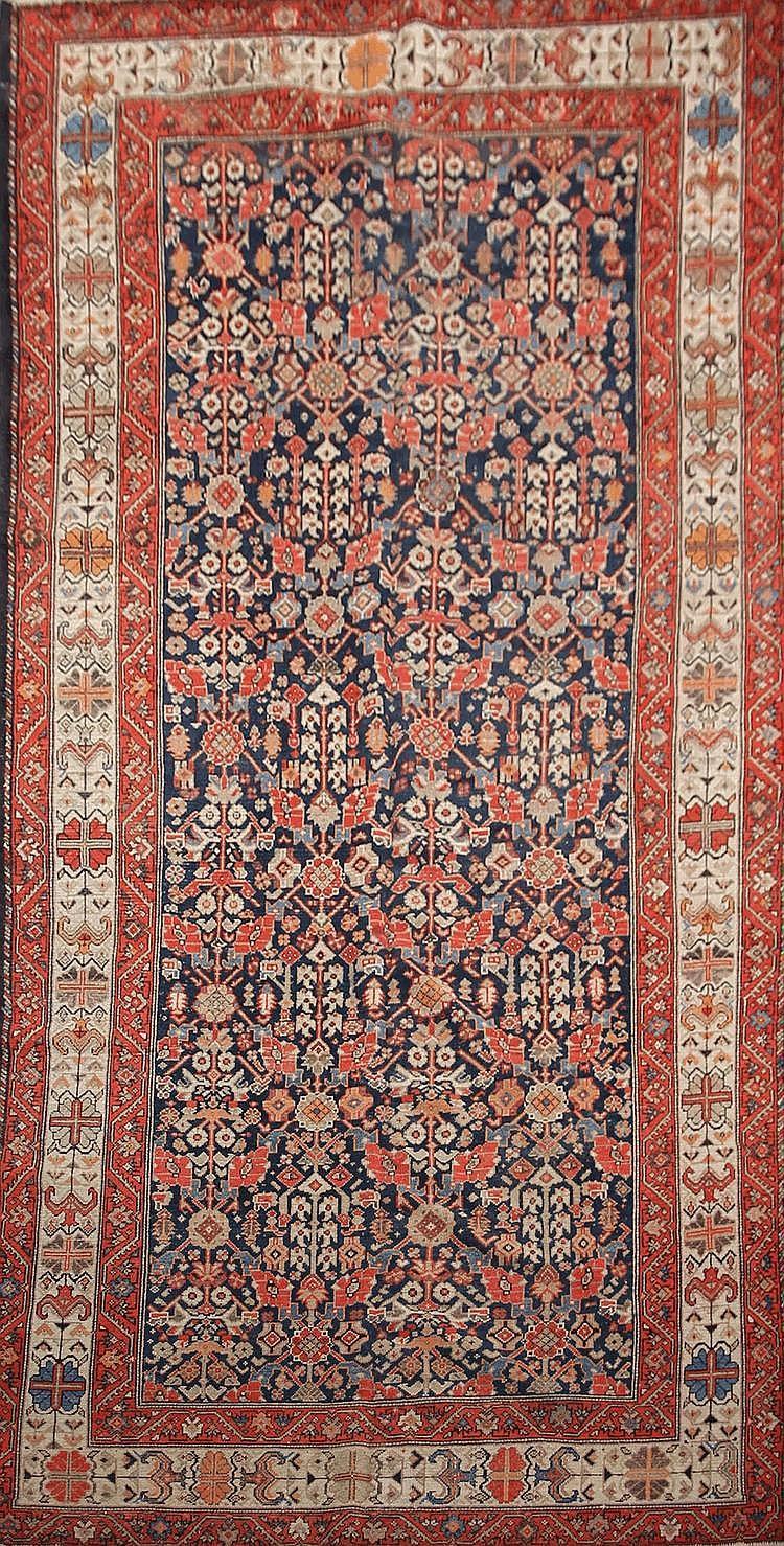 Important FERAHAN (Iran) décor Herati Vers 1930 390 x 182 cm (tapis de hall)
