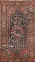 Ancien MELAYER (Perse) à décor floral Vers 1940 195 x 112 cm