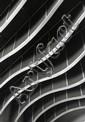 Alain Bujak Architecture. Médiathéque de Dreux. Tirage argentique d'époque réalisé par l'artiste. Circa 2005. 40 x 50 cm.