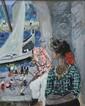 Francis Smith (1881-1961) Vue du port Dessin, aquarelle, gouache sur papier 29x23 cm