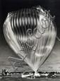 Anonyme Nasa. Essai Ballon ascensionnel. Image d'archive. Cap Canaveral. Tirage argentique d'époque Circa 1959. 18 x 24 cm.