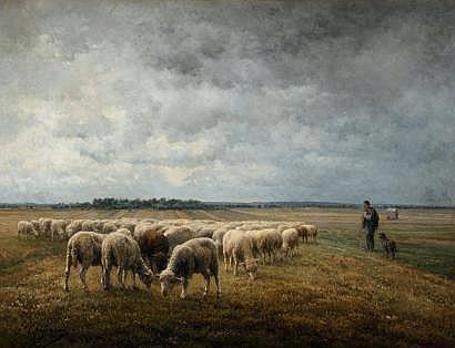 Jean Ferdinand CHAIGNEAU (? 1830 -? 1906) Berger