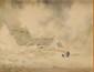 Ernest GUERIN (1887-1952) Brume en Bretagne Aquarelle et lavis Signé en bas à gauche 25,7 x 33,6 cm (à vue) (10,1 x 13,2 in.)  Watercolour and wash Signed lower left