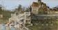 Pierre Eugène MONTEZIN (1874-1946) Bateaux au port Aquarelle et gouache Signé et daté 30 août 1944 en bas à droite 18,7 x 35,5 cm (à vue) (7,4 x 14 in.)  Watercolour and gouache Signed and dated 30 August 1944 lower right