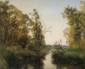Albert F. LAURENS (1864-1934)  Bord de rivière Sur sa toile d'origine Signée en bas à doite 58,5 x 70,5 cm (23 x 27,7 in.)  On its original canvas Signed lower right