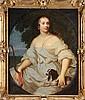 ECOLE FRANCAISE DU  XVIIème siècle, Atelier de MIGNARD Portrait d'Henriette d'Angleterre Huile sur toile 109 x 86 cm