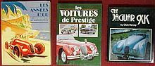 « Les années d'or, l'automobile » ; « Les voitures de prestige » ; « The Jaguar XK » par Chris Harvey.