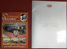 « The Schlumpf Obsession » par Denis Jenkinson et Peter Verstappen ; ainsi que la revue de presse de la Bugatti EB 118.
