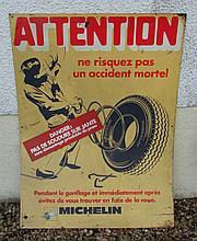 Plaque Michelin.