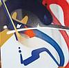 SMASH 137 (Né en 1979) Smurf #3  2012 Peinture en aérosol sur toile Signé en bas à droite Contre,  Smash137, Click for value