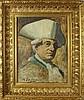Maurice Jean LEFEBVRE (1873-1954) Portrait d'homme au chapeau Huile sur car, Maurice-Jean Lefebvre, Click for value