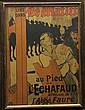 Henri de TOULOUSE-LAUTREC (1864-1901) Affiche Le Matin Lithographie 83,5x61cm