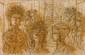 Jean CARZOU (1907-2000) Les Temps Lithographie Signé en bas à droite et numéroté 86/187 en bas à gauche 22,5 x 34 cm (à vue)