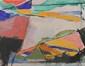 François BRUETSCHY (né en 1938) Composition Huile sur toile Contresigné et daté au dos Juillet 91 33 x 27 cm