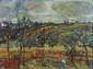 Yves COMMERE (1920-1986) Les blés Huile sur toile Signé en bas à droite 48x63cm