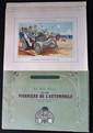 « La Belle Epoque et les pionniers de l'Automobile », 15 compositions lithographiques originales de Guy Sabran