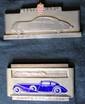 Lot comprenant 2 plaques « 26ème Concours d'élégance Automobile de Monte Carlo » 1934 et « 32ème Concours d'élégance de Monte Carlo ».