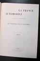 La France Automobile 1904, 9 ème année, 53 numéros, reliée en 1 volume