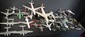 Lot de 34 avions miniatures