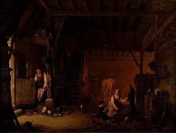 Jean Louis Van KUYCK (Anvers 1821 - 1871) -