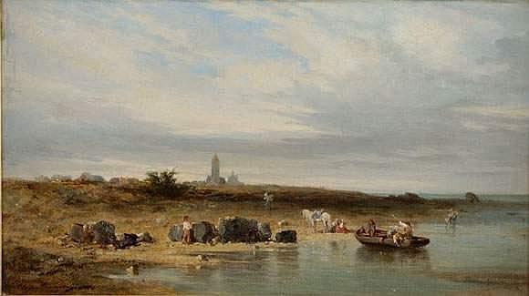 Charles Emile de TOURNEMINE (Toulon 1812 - 1872) -