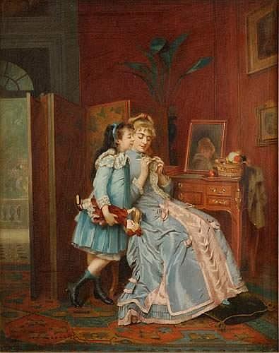 Eugène ACCARD (Bordeaux 1824 - Paris 1888) - Les