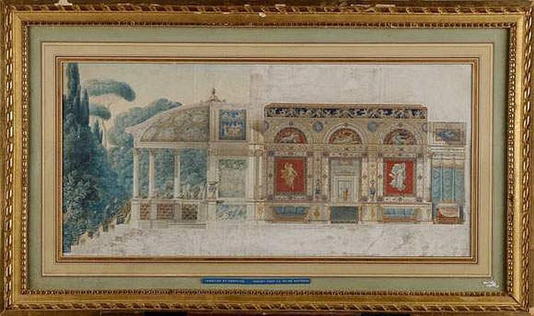 PERCIER Charles (1764-1838) et FONTAINE Pierre,