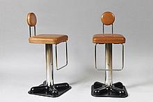 JOE COLOMBO (1930-1971)  DESIGNER pour ZANOTTA ÉDITEUR Birillo dit aussi Bistro, modèle créé en 1971.