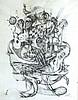 FRED NALL (né en 1948)  Composition sans titre Lithographie Signée à la mine de plomb en bas à droite 64 x 49,5 cm, Fred Nall, Click for value