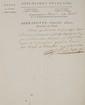 BERNADOTTE (Jean-Baptiste-Jules). Lettre signée « J. Bernadotte » avec 9 mots autographes, adressée au naturaliste et grand chancelier de la légion d'Honneur Étienne de Lacépède. Hanovre, 22 germinal an XIII [12 avril 1805]. 1 p. 1/4 in-folio,