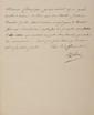NAPOLéON Ier. Lettre signée « Napoleon » à Jean-Baptiste de Nompère de Champagny. Paris, 2 février 1806. 1/2 p. in-4, sur papier vélin doré sur tranches. 1 000 / 1 200 € « Je suis instruit qu'un grand nombre d'ouvriers de Paris sont sans travail