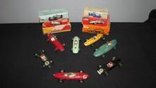 SOLIDO : Lot comprenant une Lotus F1 ;  une Porsche F2 ; une BRM V8 ; une Ferrari F1 ; une Maserati 250 ; une Vanwall F1 et une Cooper 1500