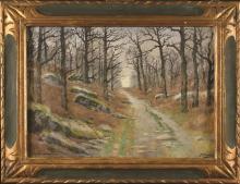 Joseph-Clément-Maxime JEANNOT (1855-?) Chemin en f…