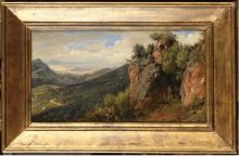 Jean-Joseph-Jules DEFER (1803 - 1902), Paysage esc…