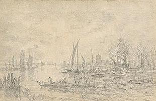 ANASTASI Auguste Paul Charles (1820-1889). Pêche