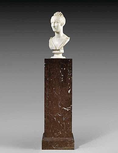 BARTOLINI Lorenzo (1777-1850) «BUSTE ELISA