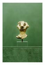 Mésopotamie, époque amorrite, fin du IIIème   début du IIème  millénaire.  BUSTE D'UN PERSONNAGE. Terre cuite.  H. 6,5 cm