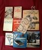 Jean Albert Grégoire, important lot comprenant 9 livres de ce visionnaire dont les 2 tomes de 50 ans d'automobile, Toutes mes automobiles, l'aventure automobile,...