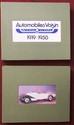 Lot de 2 très beaux albums d'Automobiles Voisin 1919-1958, impressions laser, documents historiques.
