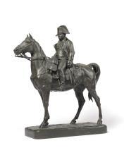 Jules Edmond MASSON (1871-1932). « L'Empereur Napoléon Ier à cheval ». Bron
