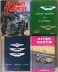 ASTON MARTIN lot de 4 livres sur la marque avec notamment le