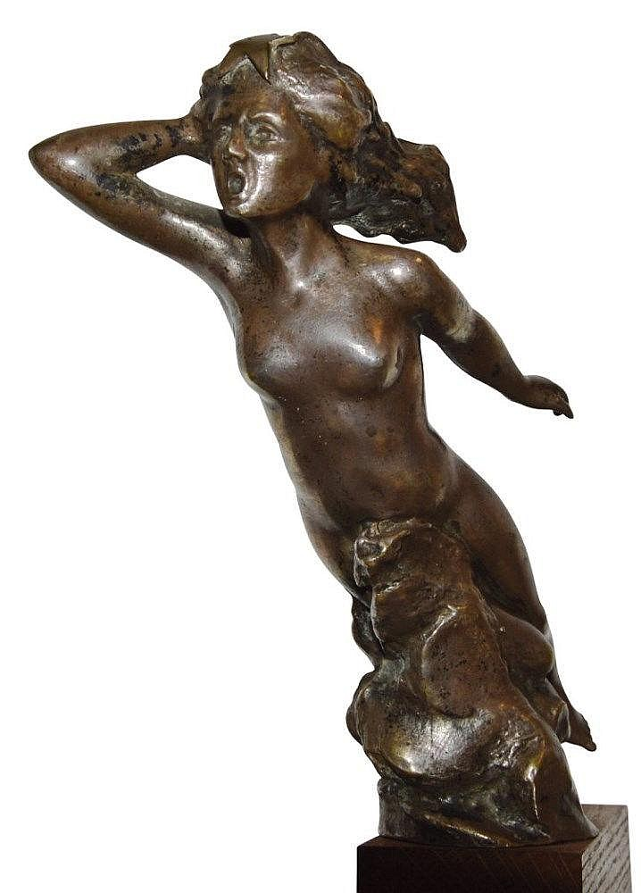 L'etoile,  Signée Van de Voorde (Georges Van de Voorde, 1878