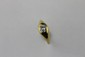 BAGUE en or jaune ornée d'un diamant de taille brillant de 0,90 carat. Poids brut : 6,4 g TDD : 64