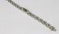 MONTRE ART DECO en or gris ornée de diamants de taille ancienne. Poids brut : 22,6 g Longueur : 17 cm