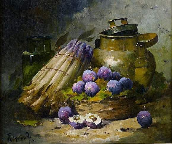 Alfred-Arthur BRUNEL de NEUVILLE - Nature morte