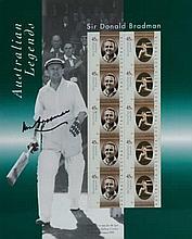 Australian Legends 1997 original issue stamp pack